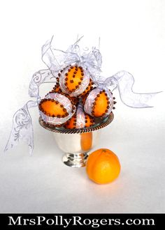 Cloved Oranges - Mrs. Polly Rogers | Decorate, Make, Create! | Mrs. Polly Rogers | Decorate, Make, Create!