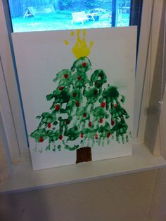 Kids Christmas craft. great for elementary school or Sunday school crafts