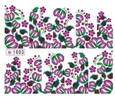 1 Set Satisfaction Popular Hots Nails Art Sticker Decorations Self Adhesive Design Decals Pattern Type 1603 * More info could be found at the image url.