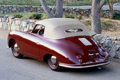1951 Porsche 356 ... Nice top and rear window