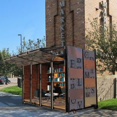 The BookBox is a mobile unit of Cleveland Public Library (CPL) that seeks to connect with users in an upredictable location.  BookBox is an evolution of the ShopBox which was originally designed by Cristian Schmitt, an architect from Santiago, Chile who spent six months in Cleveland developing his idea for...
