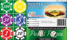 Example Of A Coupon Impressive Mcdonalds Coupon From Postal Prizes  Postal Prizes Coupons .