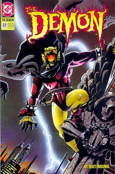 The Demon #22 - Matt Wagner The Darkness, Comic Books For Sale, Comic Books Art, Book Art, Comic Book Characters, Comic Character, Matt Wagner, Justice League Dark, Dc Comics Art
