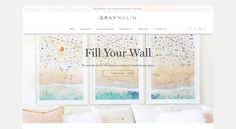 Click through to explore the redesign and meet all the exciting new features GrayMalin.com has to offer…