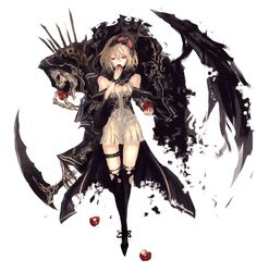 Zerochan has Pixiv Fantasia anime images, and many more in its gallery. Gothic Anime, Dark Anime, Anime Art Girl, Manga Girl, Anime Girls, Anime Demon, Manga Anime, Fantasy Characters, Anime Characters