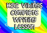 KS2 Vikings Engaging Cross-Curricula Writing Complete Lesson (Multiple Genre) - Resources - TES