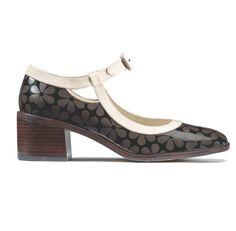 Orla Kiely Clarks AW15 Amelia Cocoa Floral Leather
