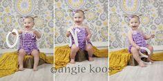 one year old photo idea  angie koos photography