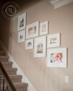Smart Ways Staircase Decoration Ideas Make Happy Your Family - Kolega Space, decoracion ideas pared Staircase Wall Decor, Stairway Decorating, Picture Wall Staircase, Gallery Wall Staircase, Stair Gallery, Picture Walls, Photo Walls, Staircase Ideas, Hallway Ideas