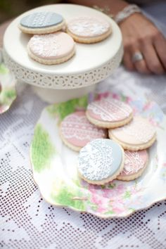 Love the Lace cookies.