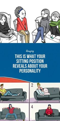This Is What Your Sitting Position Reveals About Y. - This Is What Your Sitting Position Reveals About Your Personality - Health And Fitness Articles, Health And Nutrition, Health Heal, Health And Beauty Tips, Health Tips, Health Facts, Wellness Fitness, Health Fitness, Fitness Abs