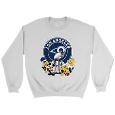 46e5faa7 NFL – Los Angeles Rams Super Bowl 2019 Mickey Mouse Minnie Mouse Donald Duck  Daisy Duck