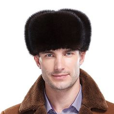 Brand:URSFUR This Mink Full Fur Russian hat features all natural Mink fur exterior. Our Russian style hat is made with genuine Mink Fur including the fur ear flaps with leather ties. The ear flaps can be worn down for extra warmth and style or neatly folded up and tied at the top. The interior...