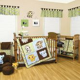 Found it at Wayfair - Chibi Zoo Crib Bedding Collection
