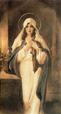 """Madonna of the Sacred Coat:"" Charles Bosseron Chambers"