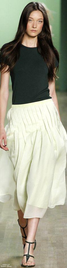Tibi Spring 2016  women fashion outfit clothing style apparel @roressclothes closet ideas