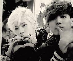 JRen - JR & Ren of Nu'est  <3 heart sign <3