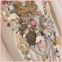 NEW! Vintage Trinket Jewelry, shop owner will have a jewelry making tips dvd in the future