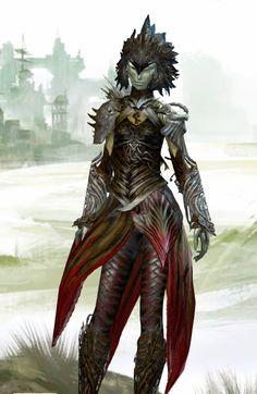 Sylvari armor - Front