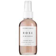 Rose Hibiscus Coconut Water Hydrating Face Mist - Herbivore   Sephora