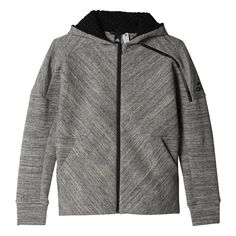Shop our adidas Boys adidas Z. Travel Hoodie in Grey from Excell Sports UK. Adidas, Kits For Kids, Hooded Jacket, Hoodies, Boys, Sweaters, Jackets, Shopping, Travel
