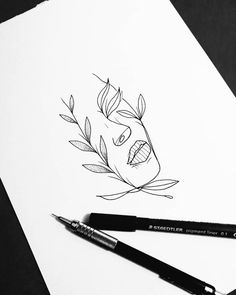 Drawing created by the artist Felipe Ramos from São Paulo. - Drawing created by the artist Felipe Ramos from São Paulo. Tumblr Drawings, Tumblr Art, Tattoo Drawings, Pencil Drawings, Art Drawings, Outline Drawings, Canvas Art Quotes, Tattoo Und Piercing, Aesthetic Art