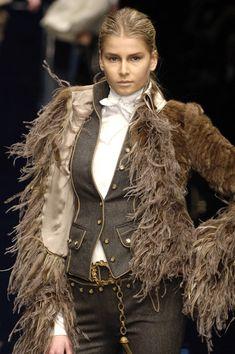 Dolce & Gabbana at Milan Fashion Week Fall 2006 - Livingly