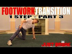 How to Break Dance   Footwork Transition   1 Step (Part 1) - YouTube