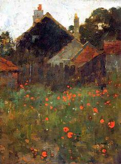 Willard Metcalf (1858-1925), est un peintre impressionniste américain.  Il commence sa formation artistique chez un sculpteur, puis chez ...