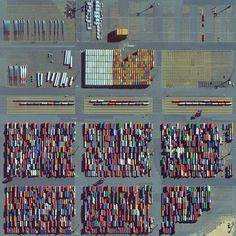 8/30/2015 Bremerhaven Port Bremen, Germany 53.584444960°, 8.536846512°  Thousands of items including shipping containers, wind turbine blades, and automobiles are prepared for transport at the Bremerhaven Port in Bremen, Germany. At any given moment, the port contains between 60,000 and 80,000 vehicles and it serves as the 23rd busiest port in the world with 5,831 thousand TEU's moved each year.