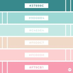 Color Palette No. Colour Pallette, Colour Schemes, Color Combinations, Website Design, Web Design, Intranet Design, Photoshop, Color Psychology, Psychology Facts