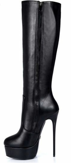 Wedge Boots, High Heel Boots, Knee Boots, Heeled Boots, Bootie Boots, Super High Heels, Black High Heels, Cute Shoes, Me Too Shoes
