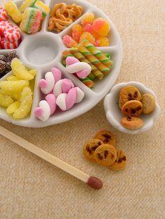 Bonbons en pâte Fimo (polymère)