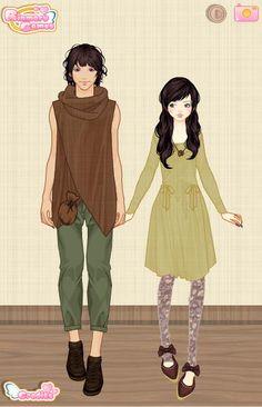 mori couple 5  #MoriGyaru, #MoriKei, #Mori, #MoriGirl, #ForestGirl, #NaturalKei
