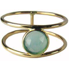 Ariel Gordon 14k Rose Cut Ring : Ariel Gordon Women (£360) ❤ liked on Polyvore featuring jewelry, rings, accessories, bracelets, new arrivals, women, bezel set ring, 14 karat gold ring, ariel gordon jewelry and 14 karat gold jewelry