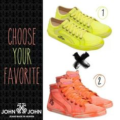 John John tennis shoes