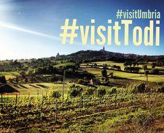 It's just #Visittodi!!!