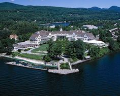 Lake George NY- I have never stayed at the Sagamore...but that's on the list of places to go.