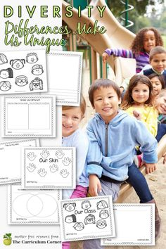 This diversity collection is geared towards younger students and helping them recognize and embrace differences among their classmates. Diversity Activities, Reading Activities, Kindergarten Activities, Person Outline, Harmony Day, Student Drawing, Mentor Texts, Writing Workshop, Sixth Grade