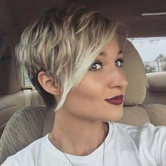 Balyage Pixie Cut Colors