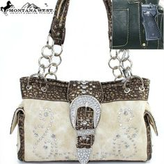 Montana West Concealed Gun Carry Handbag www.handbagloverusa.com Register to Get $5 Credit Right Now!!!!