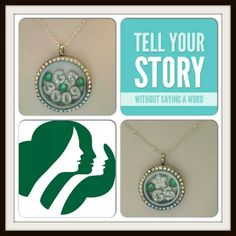 Origami owl for girl scouts