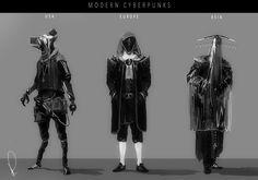 ArtStation - Modern Cyberpunks , Marcin Rubinkowski
