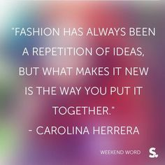 Fashion Quotes. Styling is key! Come into our store whenever you need that little extra bit of help. www.shopcloakroom.com