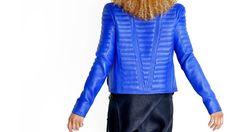 LAURENCE BASSE offers a world of custom luxury leather in women's and men's fashion. Uncommon Threads, Deerskin, Fashion Beauty, Mens Fashion, Chenille Fabric, Black Silk, Leather Jacket, Sweaters, Jackets