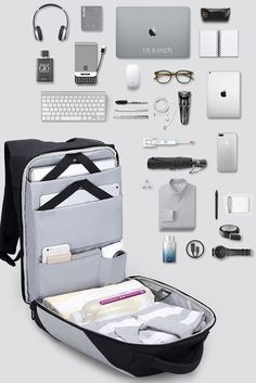 5103345e679e Upgraded Version The Most Functional Backpack for Commuters