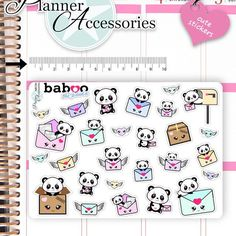 New Cute Baboo Panda Sticker available❤️