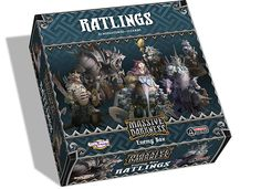 The Enemy Box: Ratlings is an Optional Buy that adds several types of Ratling enemies to Massive Darkness. It contains two different Mobs: the numerous Ratling Warriors, who swarm their enemies and cut them down with their sharp blades and sharp teeth, and the elite Ratling Crossbowmen that can rain heavy bolts on their enemies from a distance. There is also the Ratling Agent, a surprisingly skilled swordmaster, and the overgrown Ratling Bully Roaming Monster, whose speed is not at all…