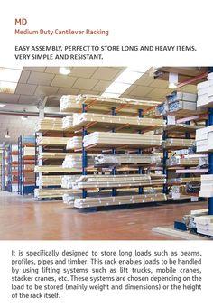 Cantilever Racks, Shelving Racks, Lifted Trucks, Beams, Simple, Design, Truck Lift Kits, Shelves