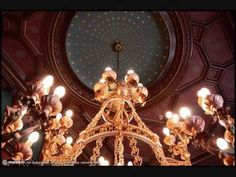 Palacio Paz - YouTube Chandelier, Ceiling Lights, Lighting, Youtube, Home Decor, Buenos Aires, Palaces, Peace, Candelabra